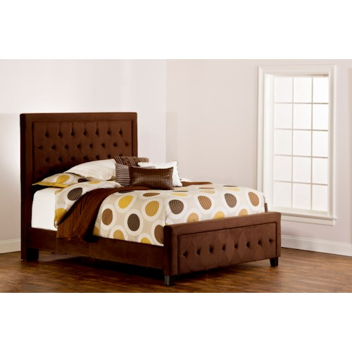 Hillsdale Upholstered Beds Kaylie King/California King Bed Set with Tufting