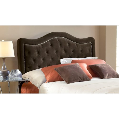 Hillsdale Upholstered Beds King Trieste Headboard with Rails
