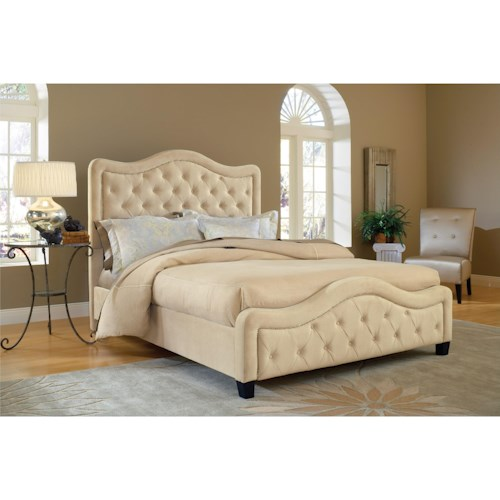 Hillsdale Upholstered Beds King/California King Trieste Bed Set with Rails