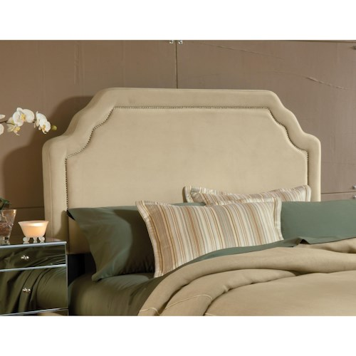 Hillsdale Upholstered Beds King Carlyle Headboard with Rails
