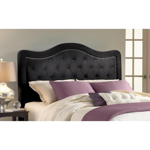 Hillsdale Upholstered Beds Queen Trieste Headboard with Rails