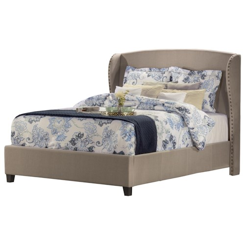 Hillsdale Upholstered Beds Wingback Queen Bed Set