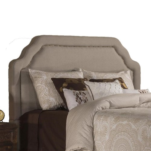 Hillsdale Upholstered Beds King Carlyle Fabric Headboard
