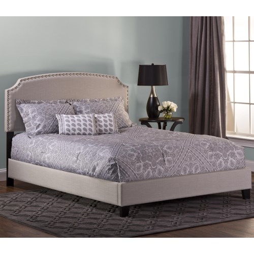Morris Home Furnishings Upholstered Beds Full Lani Upholstered Bed w/ Nail Head Trimming