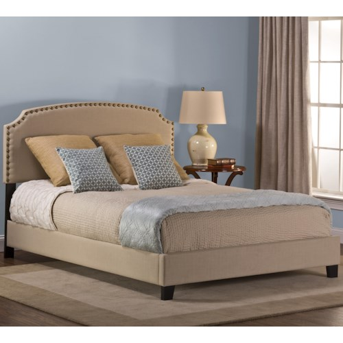 Hillsdale Upholstered Beds Twin Lani Upholstered Bed w/ Nail Head Trimming