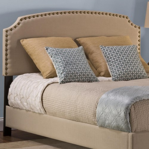 Hillsdale Upholstered Beds Twin Lani Upholstered Headboard w/ Nail Head Trimming