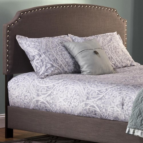 Hillsdale Upholstered Beds Full Lani Upholstered Headboard w/ Nail Head Trimming