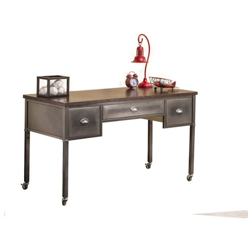Morris Home Furnishings Urban Quarters Metallic Urban Quarters Desk