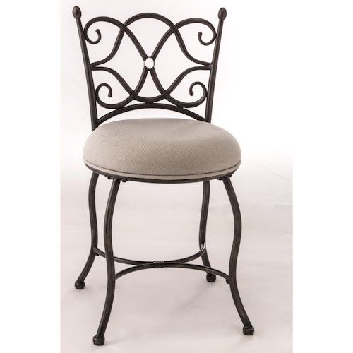 Morris Home Furnishings Vanity Stools Brody Vanity Stool
