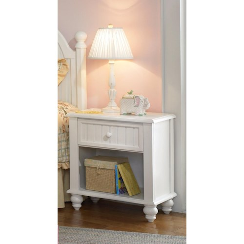 Morris Home Furnishings Westfield Nightstand with Drawer and Shelf