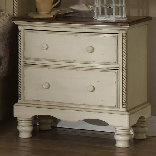 Hillsdale Wilshire Nightstand w/ 2 Drawers