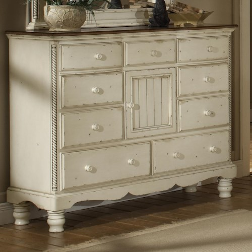 Morris Home Furnishings Wilshire Mule Chest w/ Center Door