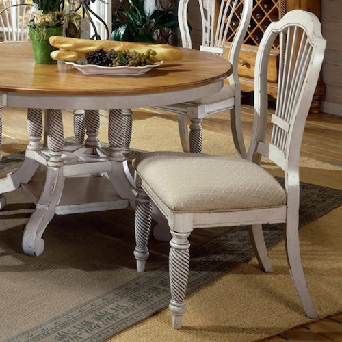 Morris Home Furnishings Wilshire Craftsman Side Chair