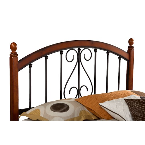 Hillsdale Wood Beds Full/Queen Burton Way Headboard without Rails