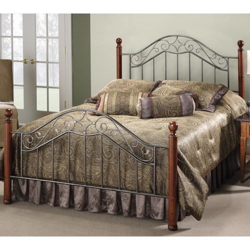 Hillsdale Wood Beds King Martino Bed