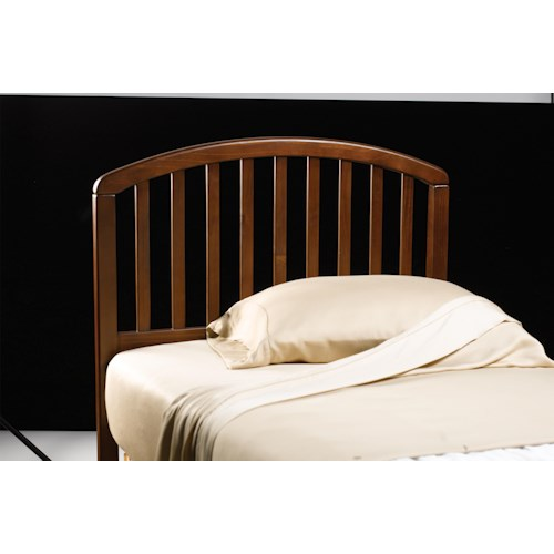 Hillsdale Wood Beds Full/ Queen Carolina Headboard with Rails