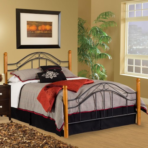 Hillsdale Wood Beds King Bed Set - Rails not Included