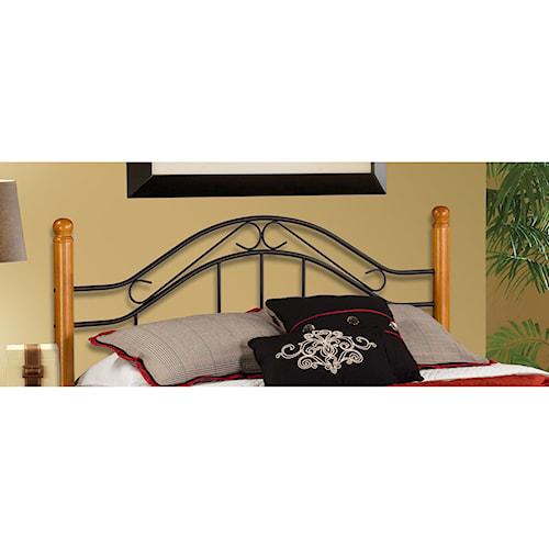 Hillsdale Wood Beds Twin Headboard - Rails Not Included