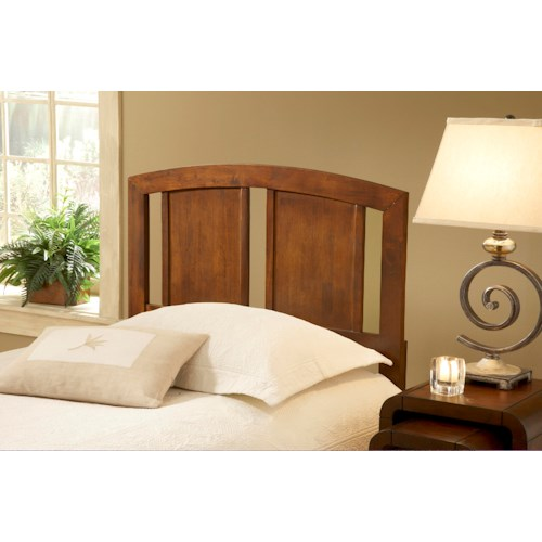 Hillsdale Wood Beds Stephanie Twin Arched Headboard with Rails