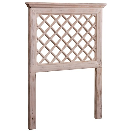 Hillsdale Wood Beds Full/Queen Headboard with Trellis Design