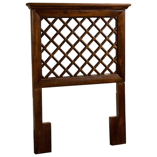 Hillsdale Wood Beds King Headboard with Trellis Design