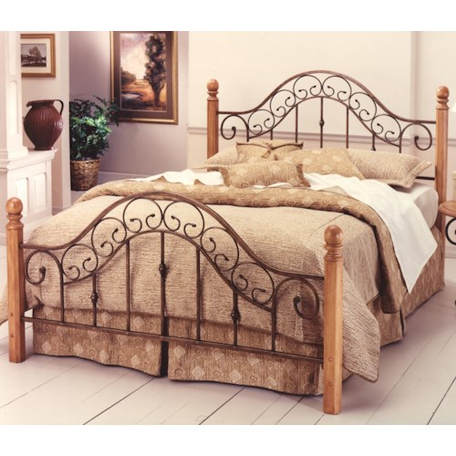 Hillsdale Wood Beds Queen San Marco Bed