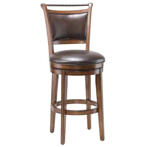 Morris Home Furnishings Wood Stools 30