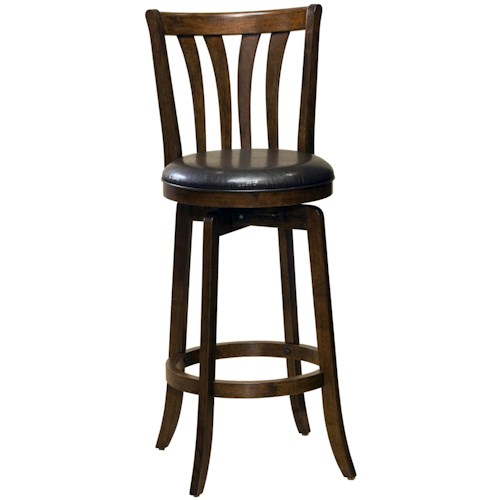 Morris Home Furnishings Wood Stools 26
