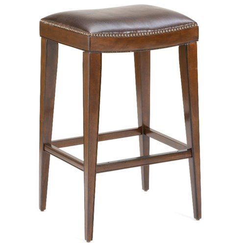 Hillsdale Wood Stools Riverton Backless Counter Stool