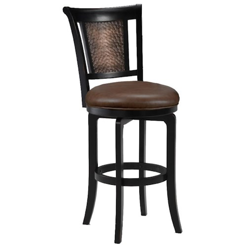 Morris Home Furnishings Wood Stools 26.5