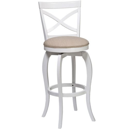 Morris Home Furnishings Wood Stools 25
