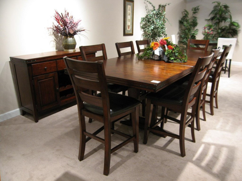Shown with Sideboard and Pub Chairs