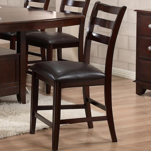 Holland House 1965 Dining Contemporary Pub Chair with UltraHyde Upholstery