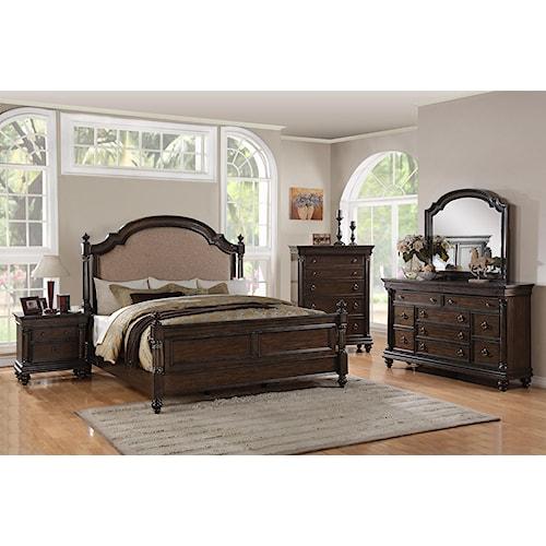 Holland House 99001 5 Pce Ashbury King Bedroom