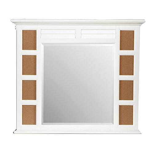 Morris Home Furnishings Berkshire Photo Dresser Mirror