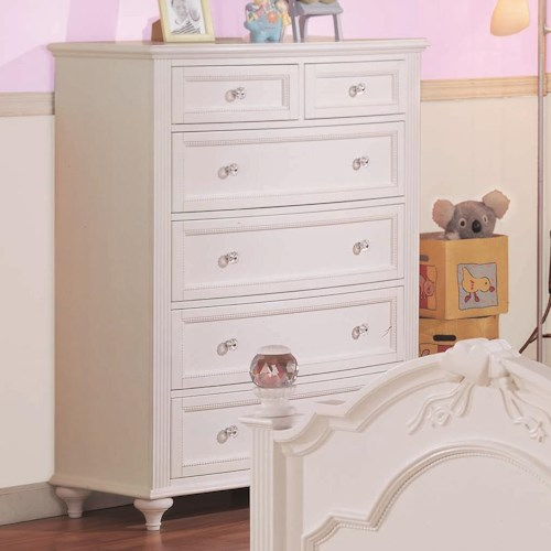 Morris Home Furnishings Loveland Chest w/ 6 Drawers