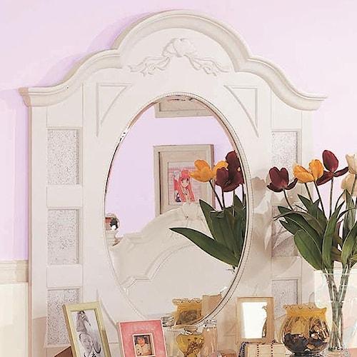 Morris Home Furnishings Loveland Triple Mirror w/ Arch