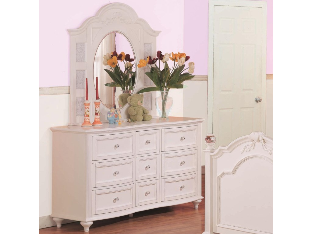 Shown in Dresser