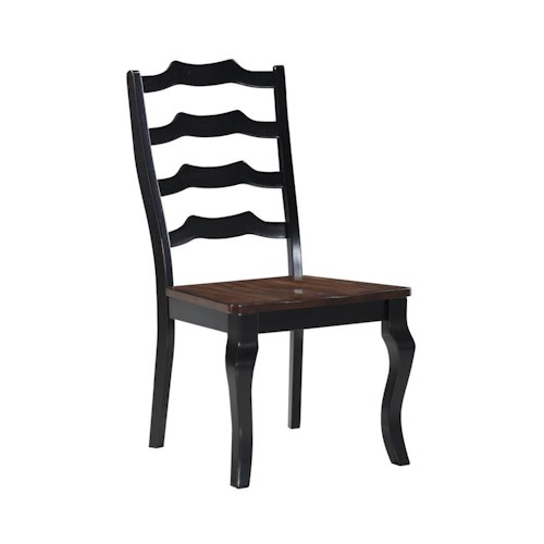 Morris Home Furnishings Creston Panel Back Dining Chair