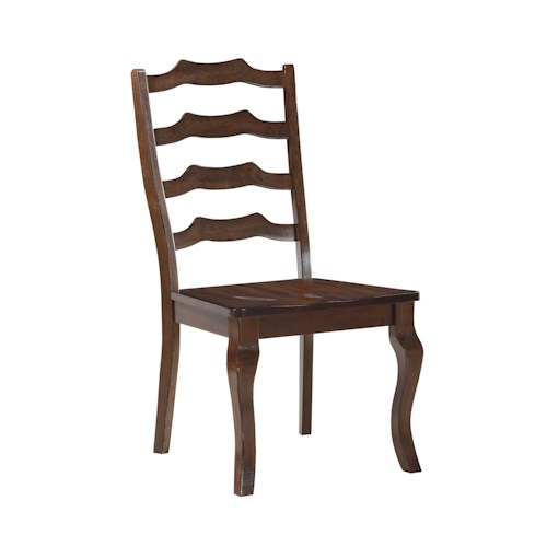 Morris Home Furnishings Creston Ladder Back Dining Chair