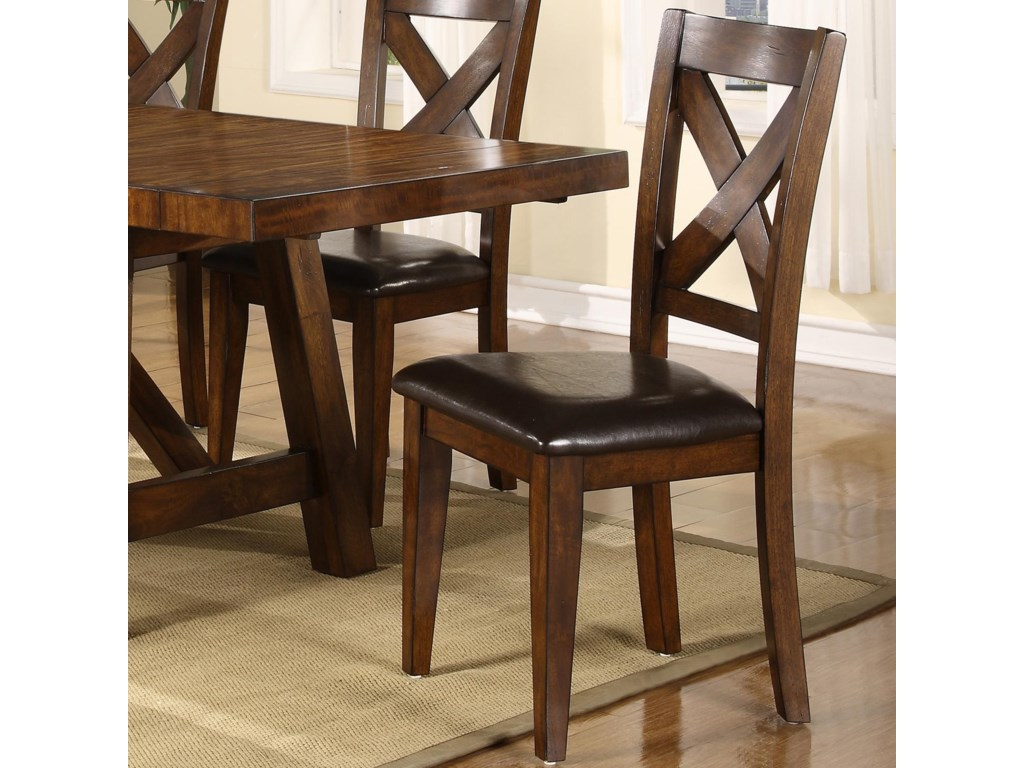 Holland House Lakeshore Dining Side Chair w X Back John V