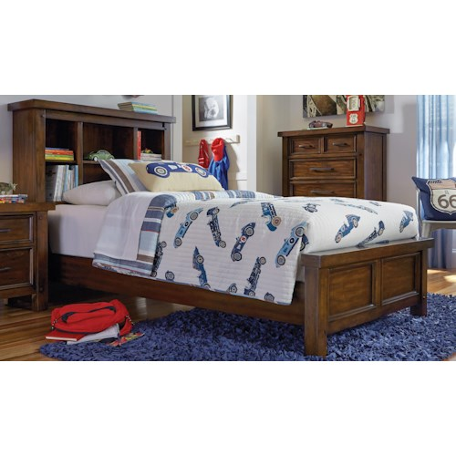 Morris Home Furnishings Sorrento 2688 Twin Bookcase Bed