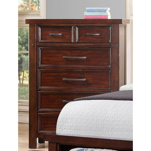 Morris Home Furnishings Sorrento 2688 Chest of Drawers