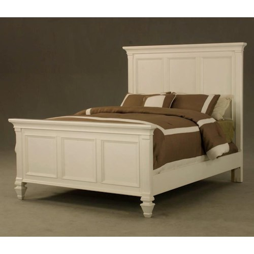 Morris Home Furnishings Surrey Queen Panel Bed