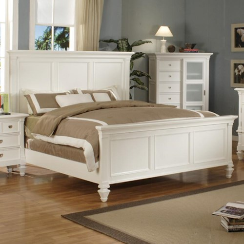 Morris Home Furnishings Surrey King Panel Bed