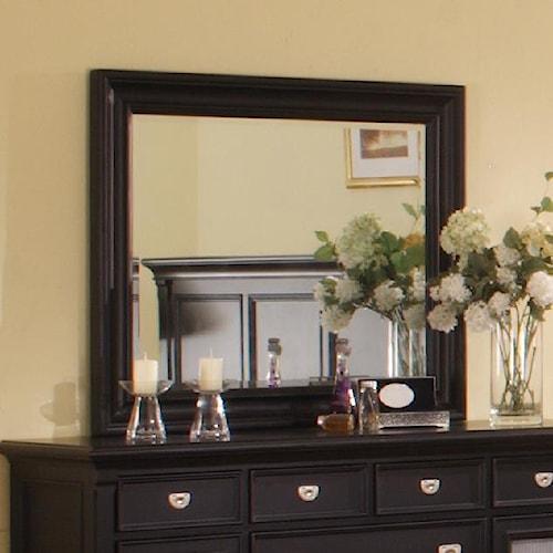 Morris Home Furnishings Surrey Rectangular Mirror
