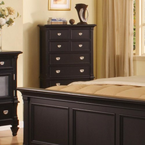 Morris Home Furnishings Surrey 5 Drawer Chest