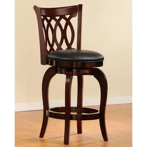 Homelegance 1133 Swivel Counter Stool