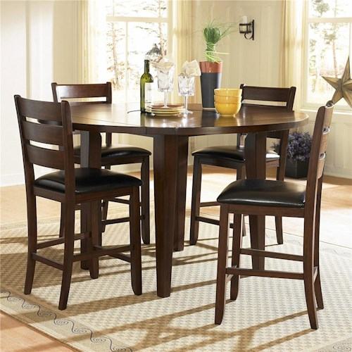 Homelegance 586 Five Piece Pub Table Set