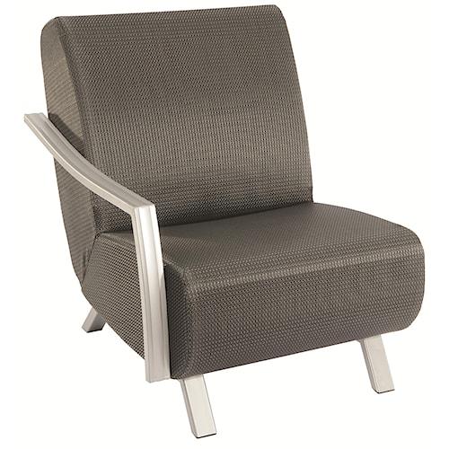 Homecrest Airo2 Left Hand Outdoor Chair